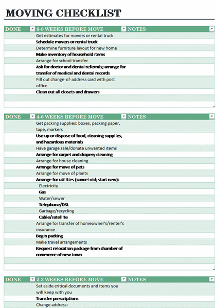 Moving-Packing-List-Template