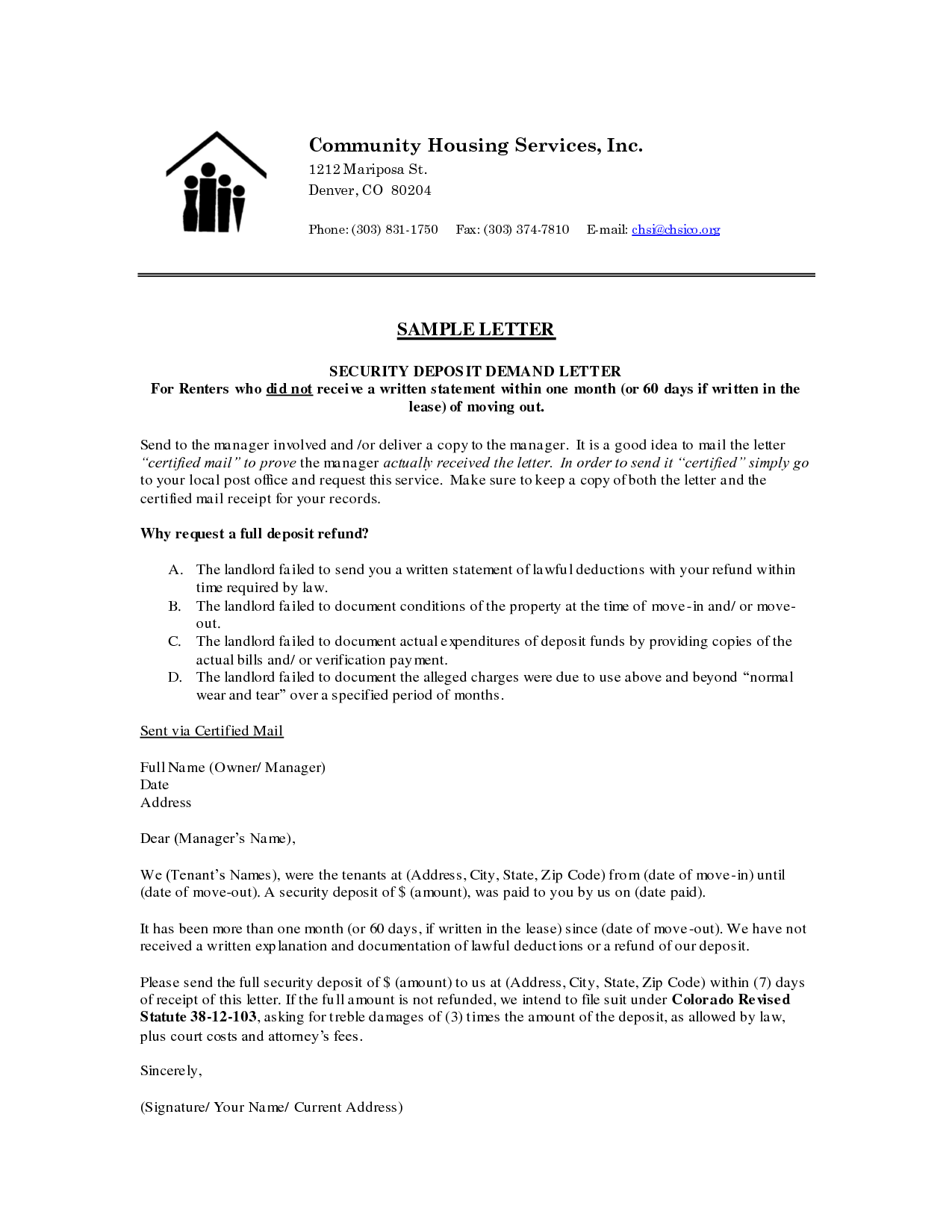 Sample Letter From Landlord To Tenant Regarding Security Deposit from publisher99.files.wordpress.com