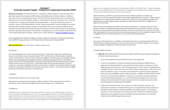 Partnership Agreement Template 4