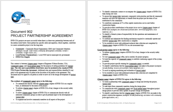 Partnership Agreement Template 6