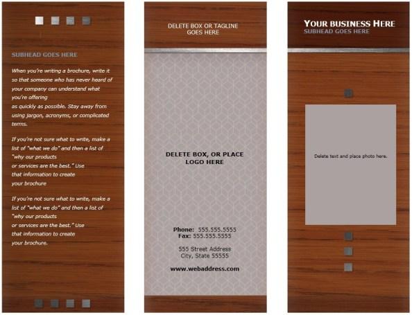 Medical Brochure Template 02